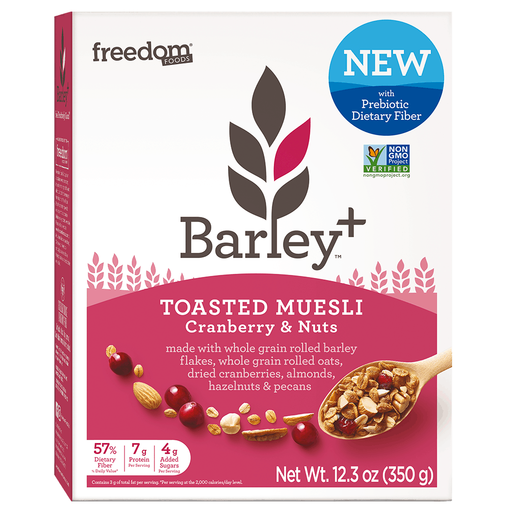 Barley Plus Muesli Cranberry Nuts