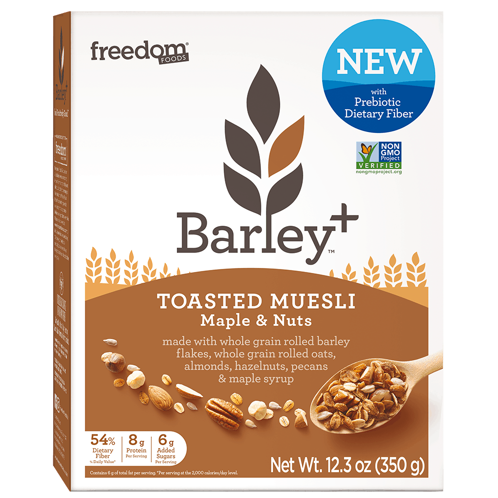 Barley Plus Muesli Maple Nuts