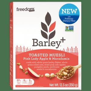 Barley Plus Muesli Pink Lady Macadamia