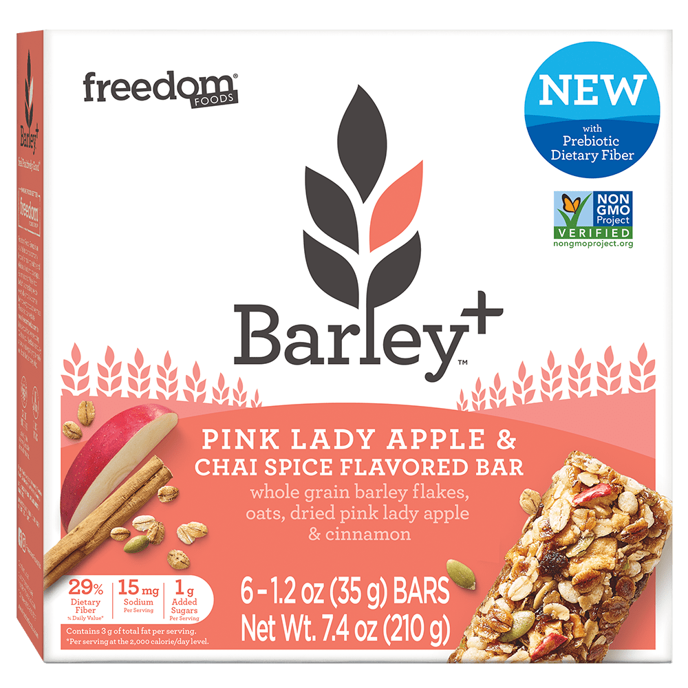 Barley Plus Pink Lady Chai Bars