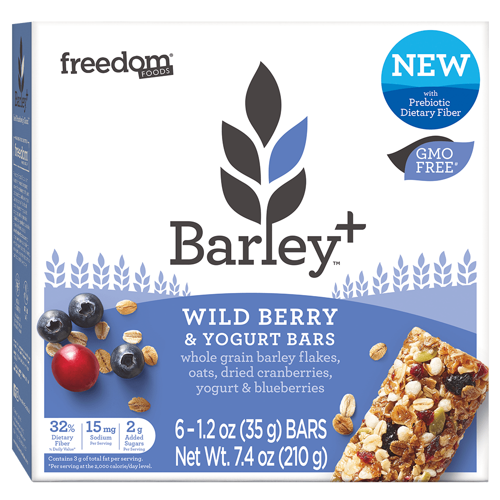 Barley Plus Wild Berry Yogurt Bars