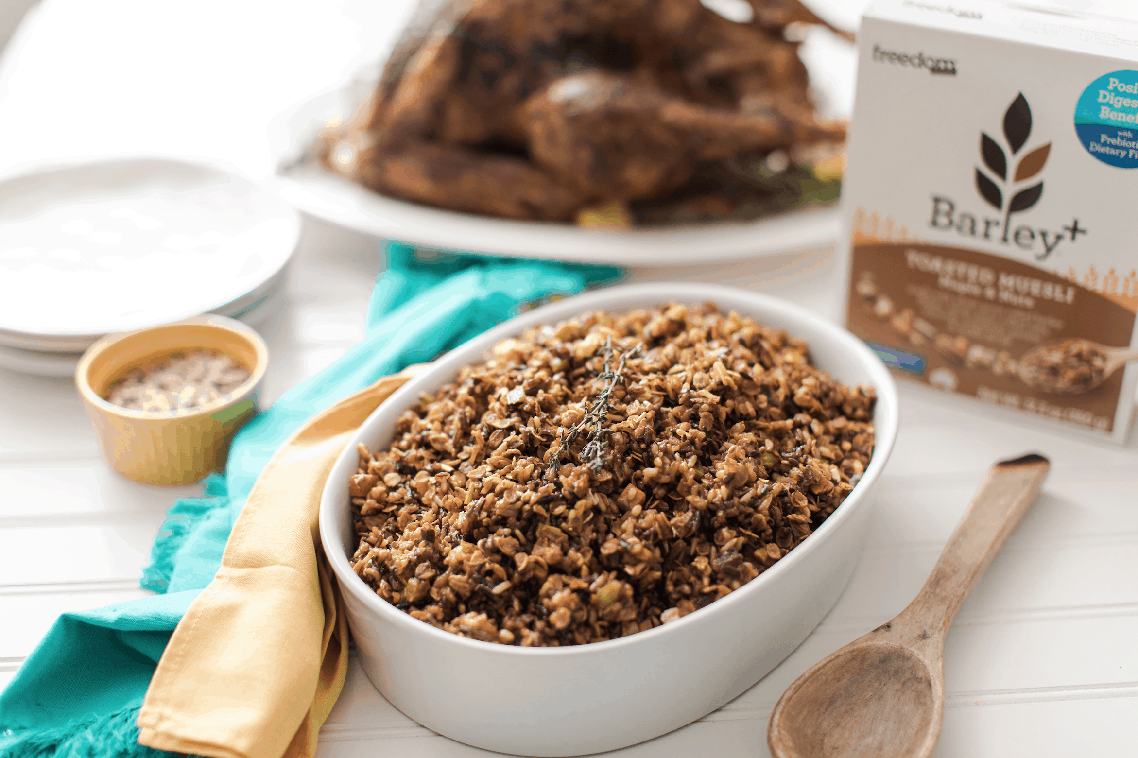 Gut Healthy Turkey Stuffing