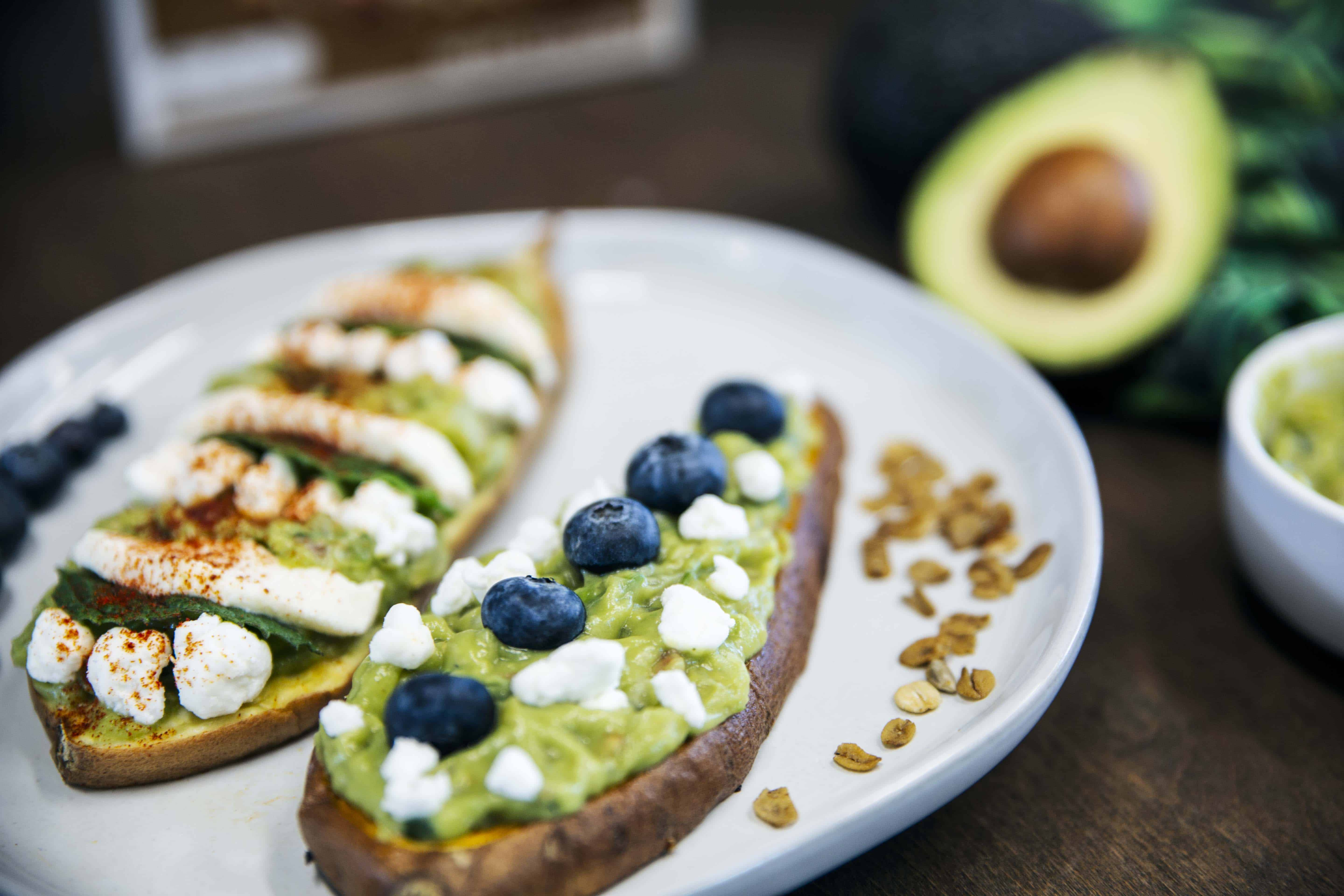 Sweet Potato Toast with Nut Butter